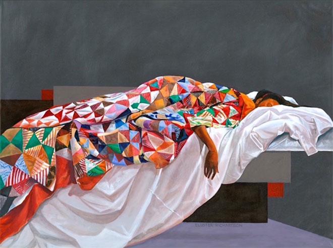 Young Girl Sleeping by Eluster Richardson