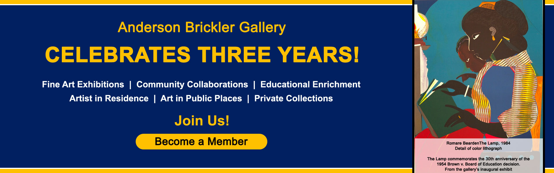 Anderson Brickler Gallery celebrates 3 years