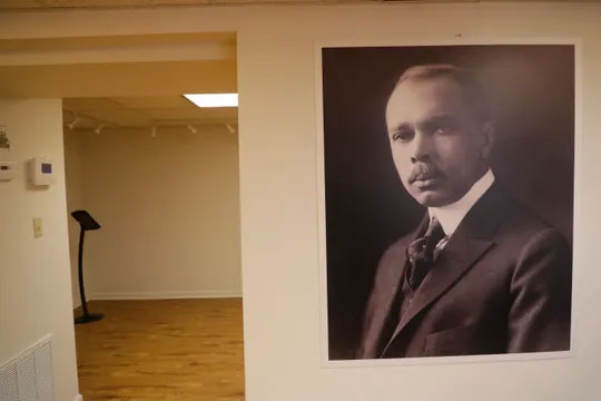Seven Sermons exhibit by James Weldon Johnson